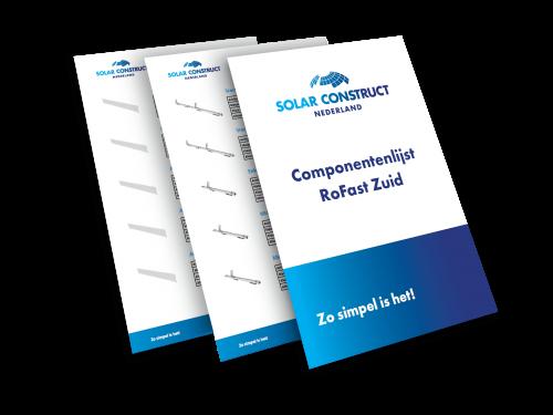 Solar Construct Nederland - Componentenlijst RoFast Zuid mockup